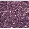 Square Beads 2X2mm Round Hole Purple Luster